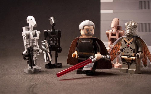 Custom Lego Count Dooku | by _Tiler