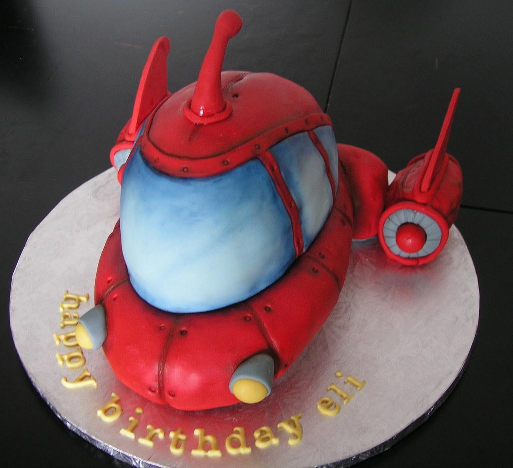 Little Einstein Pat Pat Rocket Birthday Cake For My Favour Flickr
