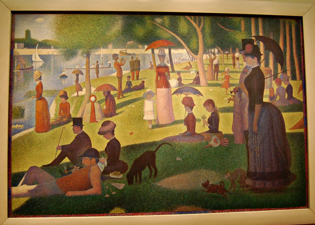 sunday afternoon on the island of la grande jatte analysis
