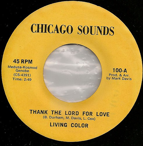 Living Colour/Thank the lord for love/Chicago Sound | by Mick Sway