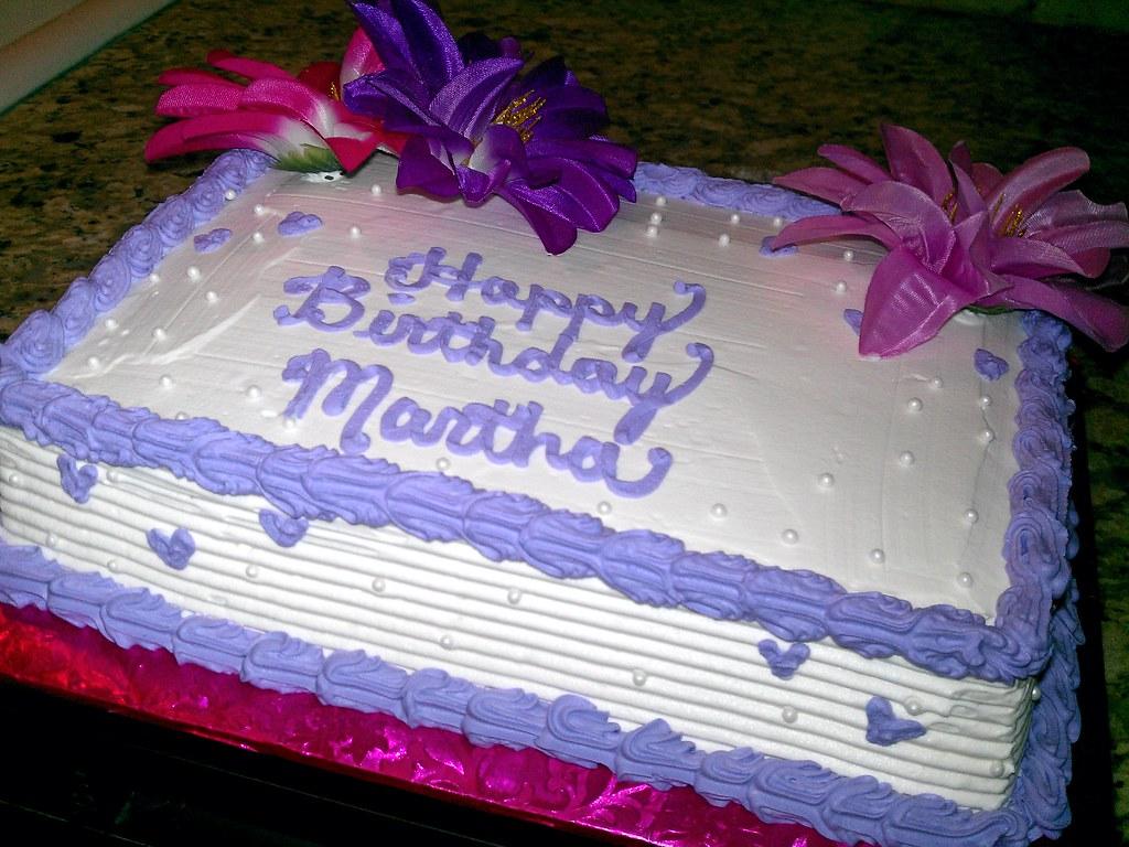 Quarter Sheet Birthday Cake Victoria Notarte Flickr