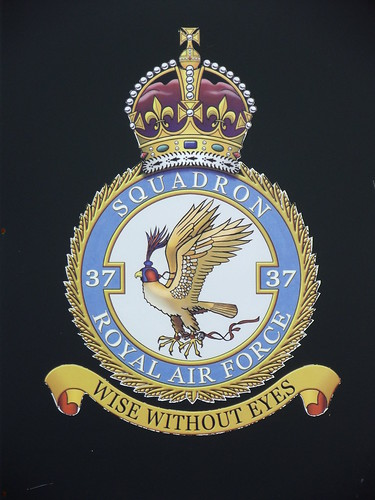 The Badge of 37 Squadron | by Anorak Corner