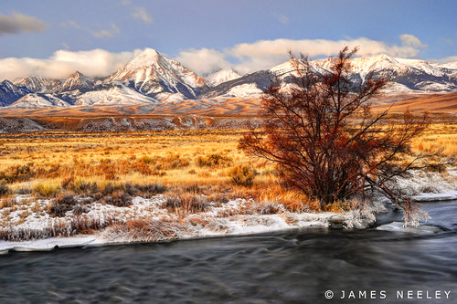 Warm Light on a Cold Day | by James Neeley