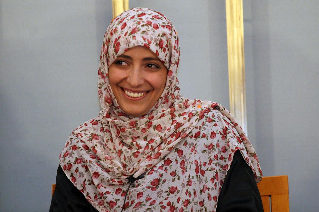 Resultado de imagen de Tawakkul Karman