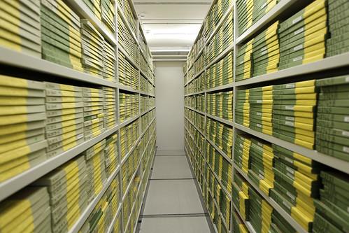 Film archive storage in dr byen danmarks radios arkiv af for 3d film archive