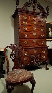 High chest of drawers carved by nicholas bernard and marti for Furniture r us philadelphia