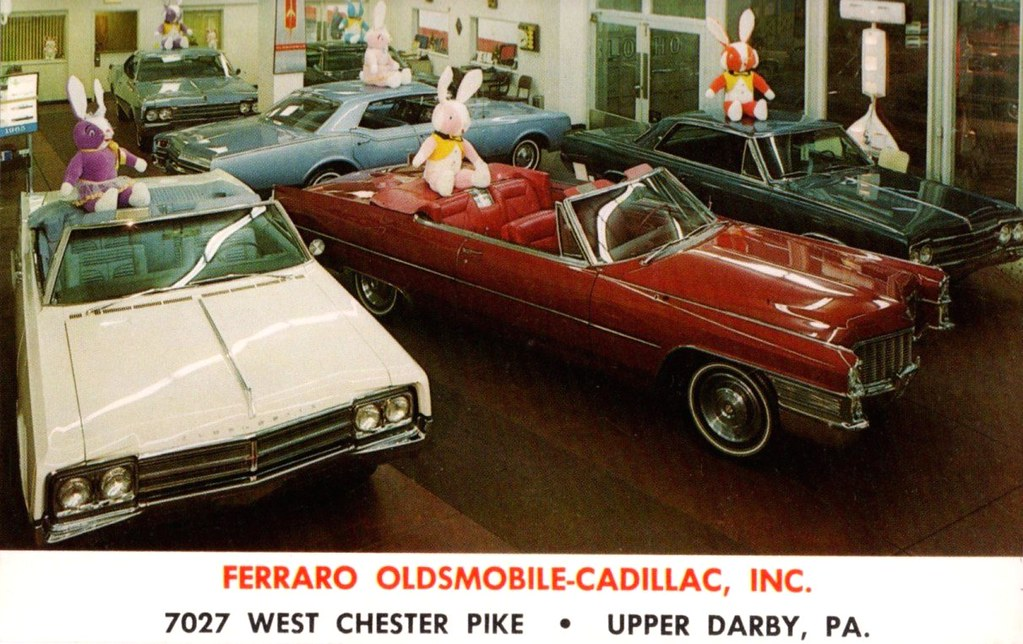 Ferraro Olds-Cadillac Showroom, Upper Darby PA, 1965 | Flickr