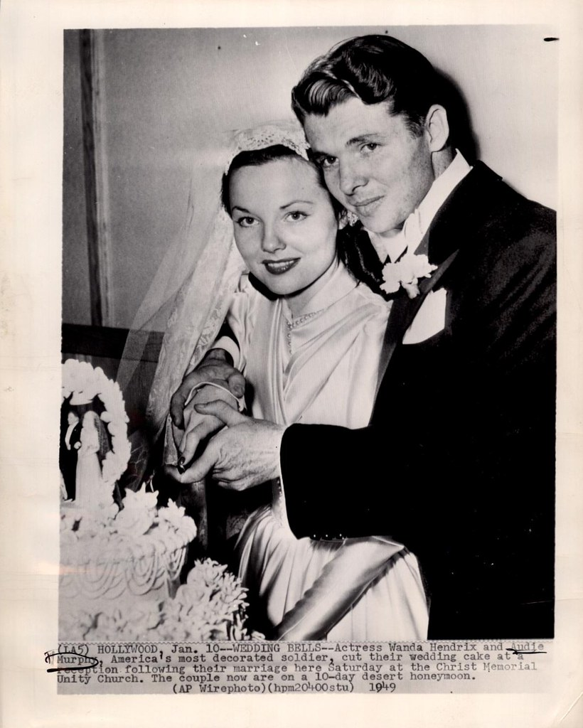 Image result for audie murphy and wanda hendrix