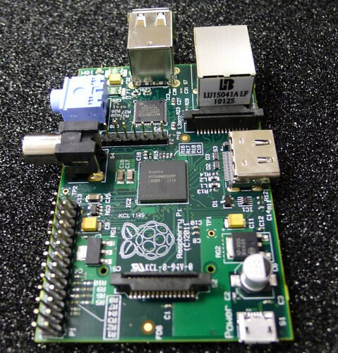 the Raspberry Pi computer | by scleroplex