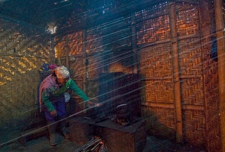 0160  Cooking inside a bamboo hut--Mt Bromo region , Indonesia | by ngchongkin