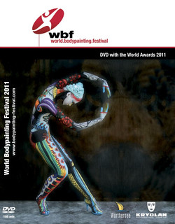 DVD cover of the official World Bodypainting Festival 2011 dvd | by Ciucciapunti
