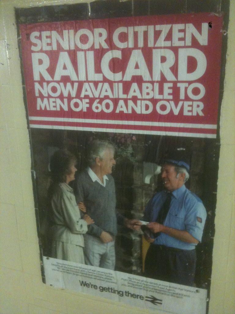 Senior Citizen Railcard