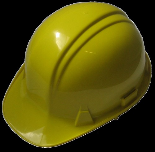 Yellow safety hat [transparent] | by srippon