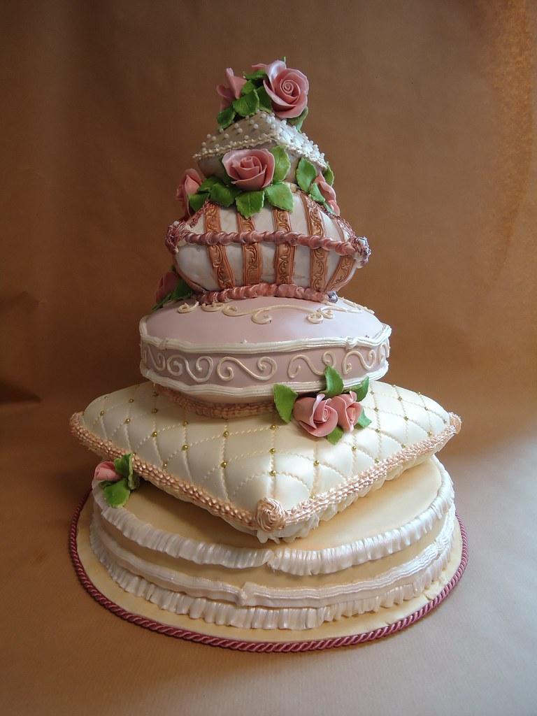 Hochzeitstorte Kissenstapel Ute Kosmell Flickr
