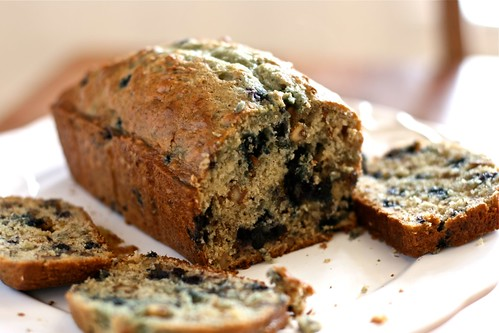 BlueBerry Banana bread | by Hungry Housewife