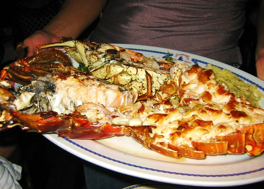Lobster Lorenzillos Restaurant Cancun Mexico Chow Time Flickr