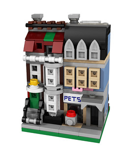 Lego Mini Modular Pet Shop MOC | by suparMacho