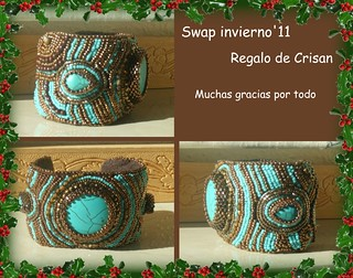 Pulsera embroidery | by nanes´99 =)