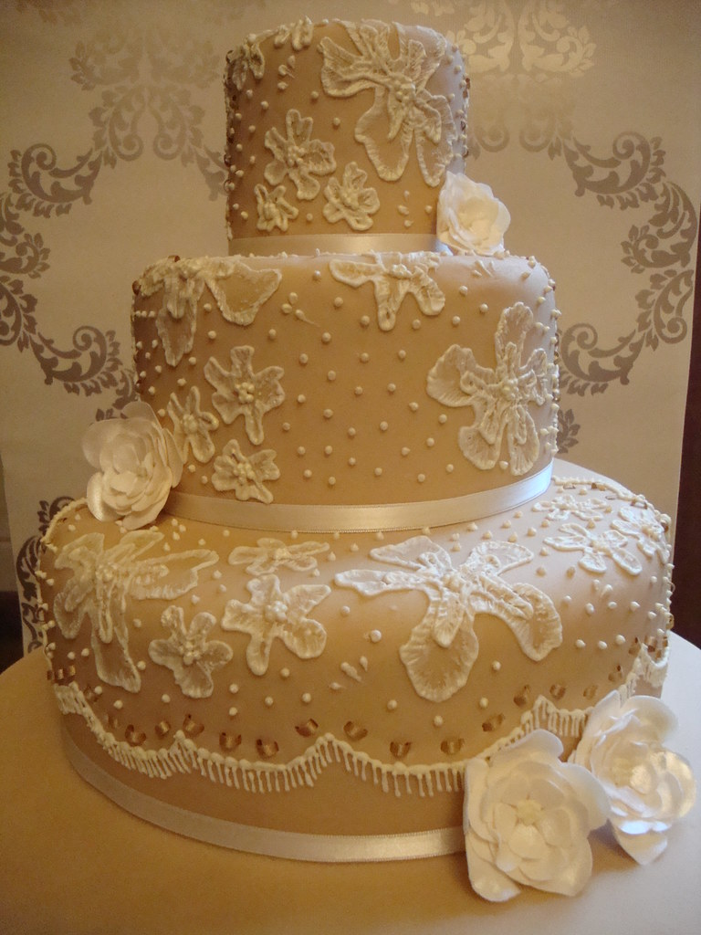 3 Tier Wedding Cake From My Masterclass With Mich Turner