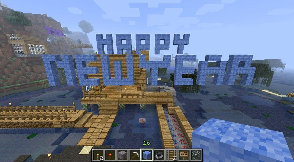 Happy New Year Minecraft 2011 Jesse Warden Flickr