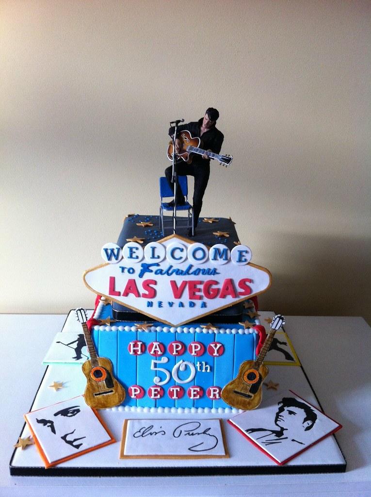 Elvis Presley Cake Lea Layton Flickr