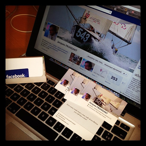 By Altaide Geek Forever Nouvelles Cartes De Visite Facebook Moo