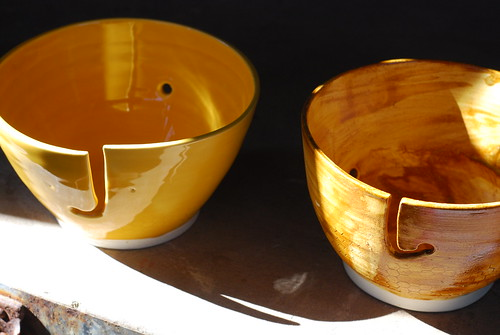 test yarn bowls | by Bridgman Pottery