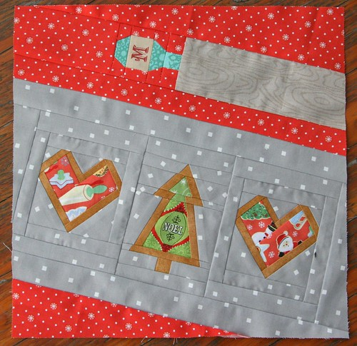 Christmas Cookies Block for Melinda | by Three Honeybees