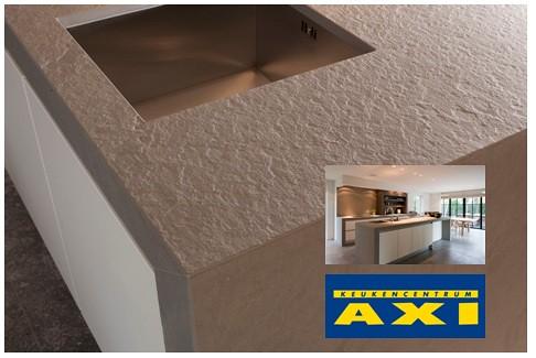 Grof werkblad van graniet uit eigen keuken axi keukens flickr