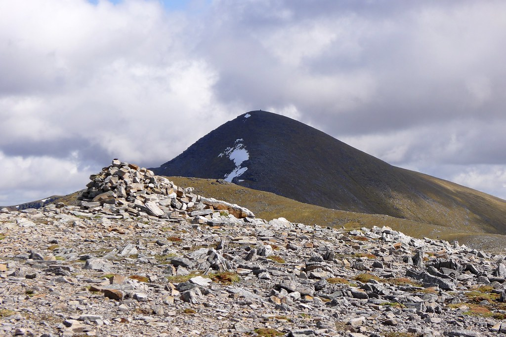 Sgurr Mor from Meall a' Chrasgaidh