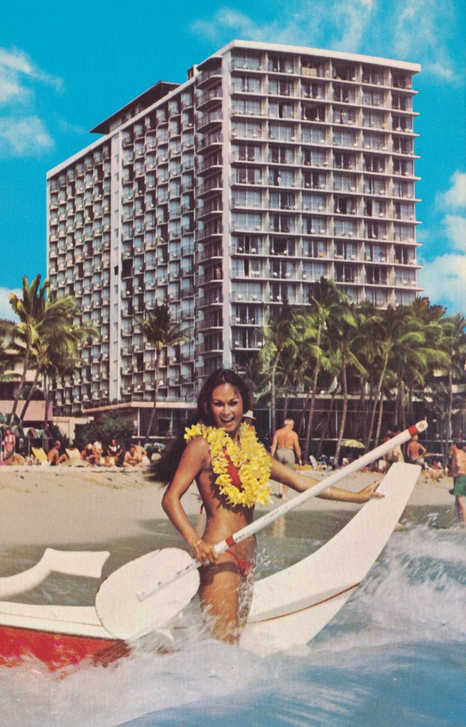 The Outrigger Hotel - Honolulu, Hawaii