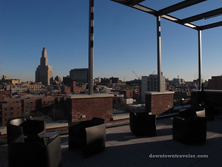 Brooklyn Fairfield Inn Hotel rooftop lounge 2 | by Downtown Traveler