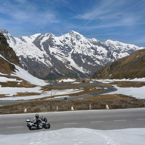 Bikers Heaven at the Großglockner high alpine road | by B℮n