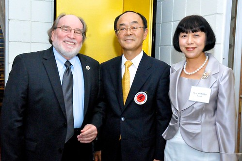 Gov Neil Abercrombie with Consul General of Japan, Yoshihiko Kamo and his wife | by Governor Neil Abercrombie