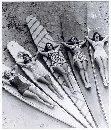 Surf sirens, Manly beach, New South Wales, 1938-46 | by National Library of Australia Commons