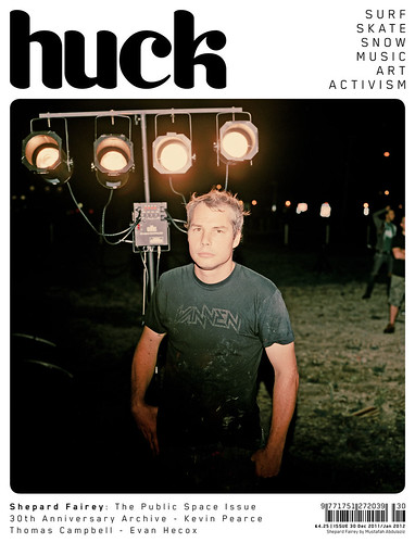 Huck #30 - The Shepard Fairey Issue | by TCOLondon