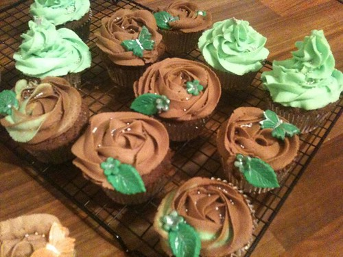 mint chocolate buttercream cupcakes | by Jean Kelly's Cakes
