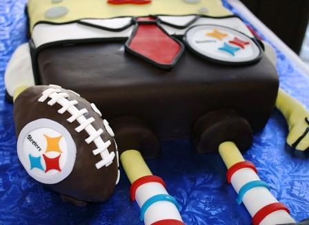 SpongeBob Square Pants Steelers Birthday Cake Steelers Log Flickr