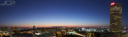 Tampa Panorama Twilight Sykes Building Waterfront | by Jason Collin