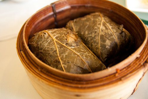 Glutinous Rice Wrap with Lotus Leaf at Regal 16 Chinese Restaurant | by claramichelle