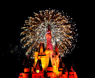 Magic Kingdom - Mickey's Very Merry Christmas Party 2011 - Fireworks | by jared422_80