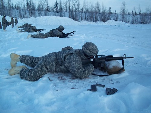 Arctic weapons qualification | by The U.S. Army