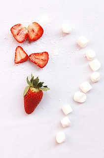 Strawberry and marshmallow | by AMAL Abdullah.