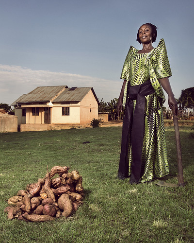 Latifa the owner-caretaker of her family's 20-acre farm | by World Bank Photo Collection
