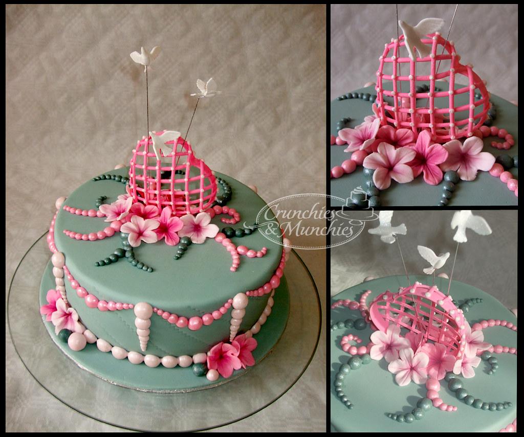 Romantic Birthday Cake Crunchies And Munchies Flickr