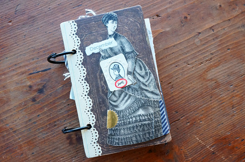 esottment December Daily / reverb11 Journal | by Paper Relics (Hope Wallace)