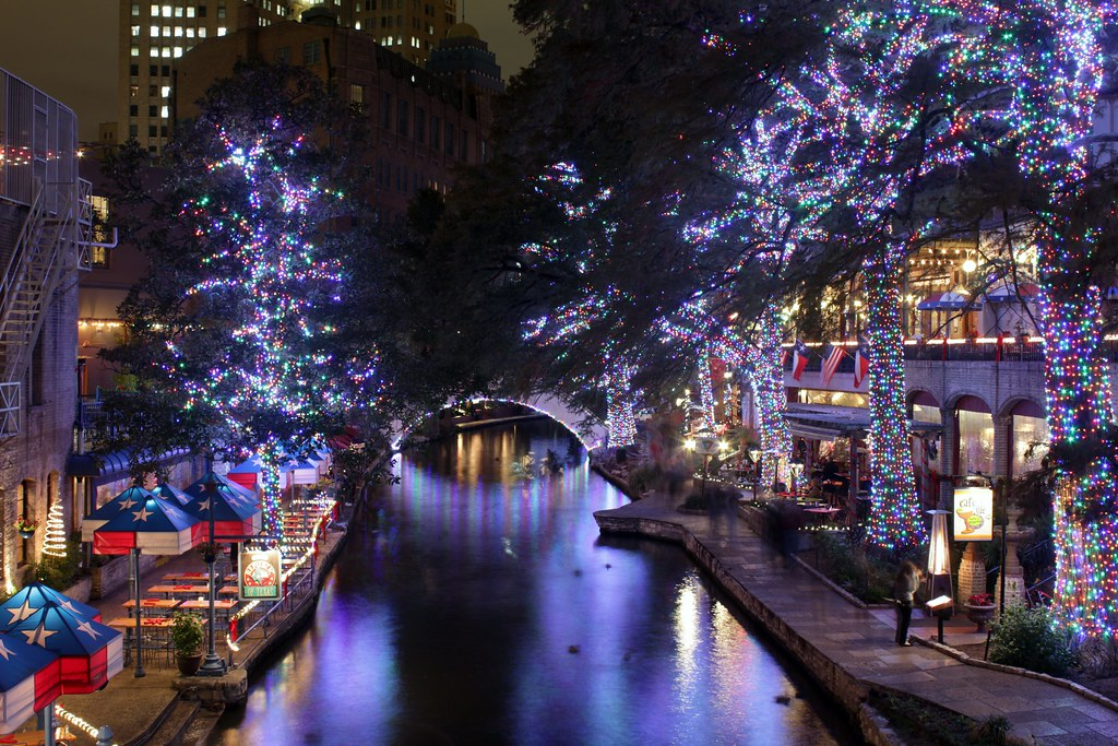 san antonio riverwalk christmas lights 2011 by glenn stuart white rabbit photography