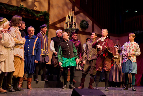 Bernie Waugh, Dartmouth class of '74, sings with ale at the 2011 Christmas Revels. | by Dartmouth Flickr