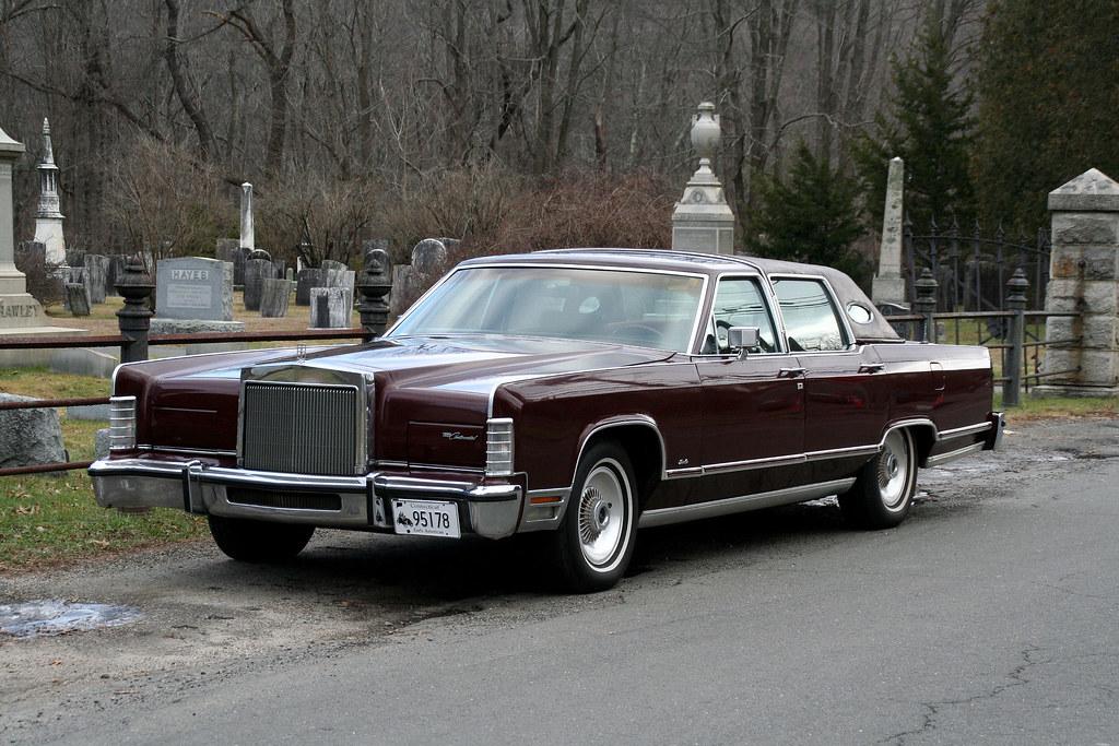 1978 Lincoln Continental Town Car American Luxury Alex Nunez
