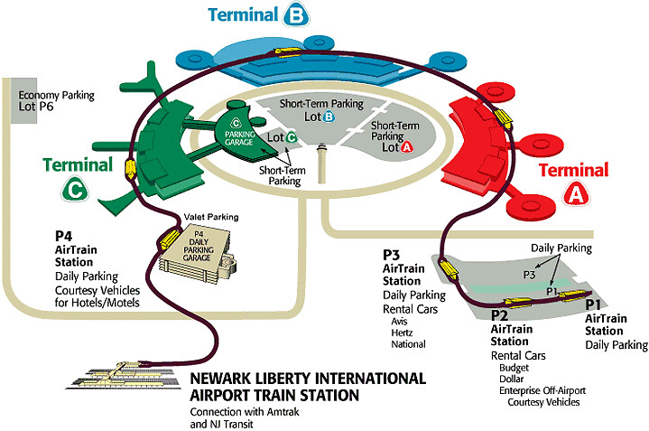 ewrairportcarewrterminalmapNEWARK AIRPORT LIMO SERVI Flickr